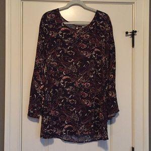 Vintage-Inspired Paisley Dress (Never Worn)